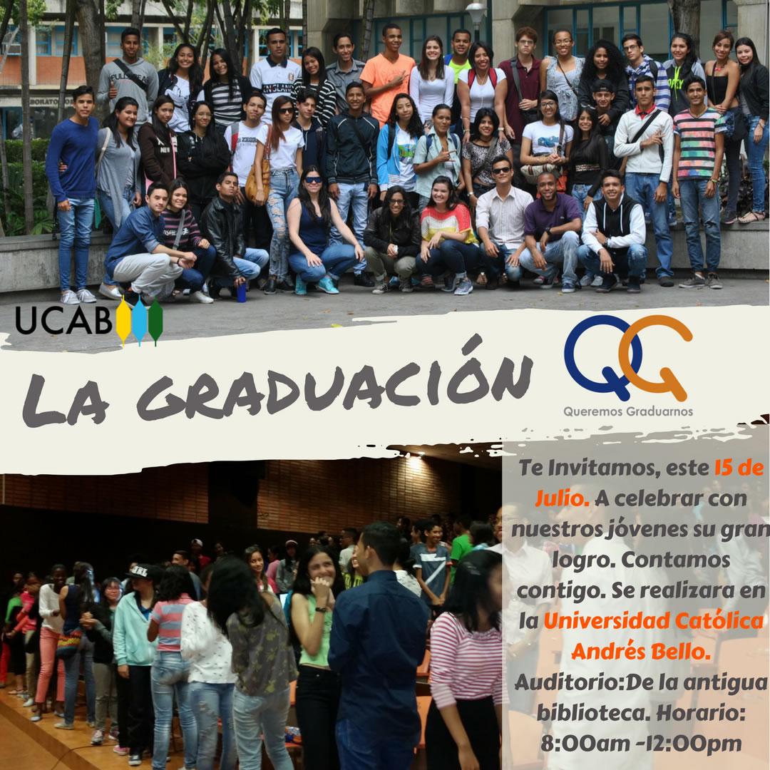 Graduación 2017 - Queremos Graduarnos